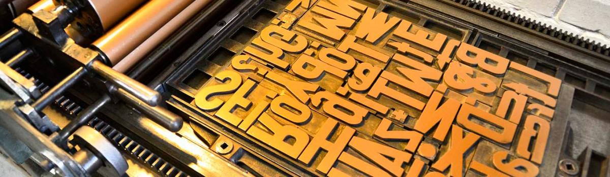 Lettertypen Tag der offenen Tür